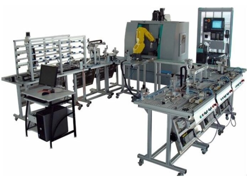 Flexible Manufacture System 11 stations equipment laboratory mechatronics training equipment