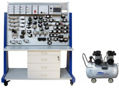 Training Bench for Proportional Pneumatic Circuits laboratory equipment Mechatronics Trainer Equipment