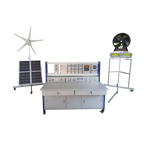 Didactic system of domestic energy production Wind Turbine Training Equipment