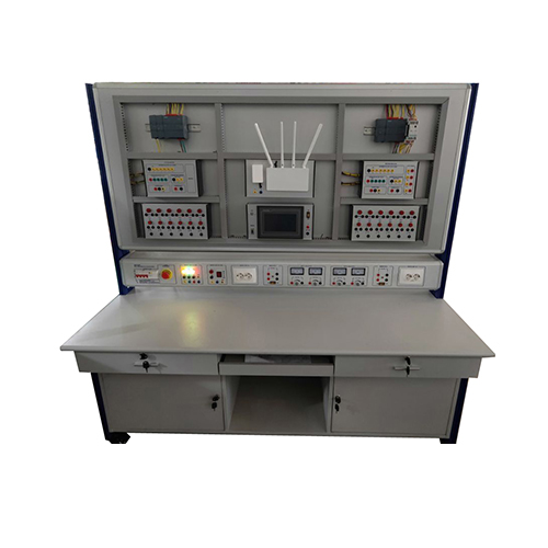 PLC with Network Communication Training Workbench Teaching Training Equipment