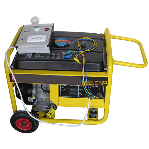 Vocational Training Equipment, Stand Alone Generator Set Trainer